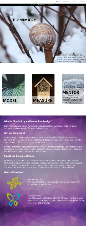 Biomimicry Page
